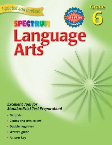 9780769653068: Language Arts, Grade 6 (Spectrum)