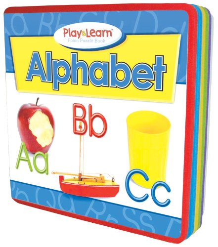 Alphabet Play & Learn Foam Puzzle Book (Play & Learn Foam Puzzle Books): Mitzo Thompson, ...