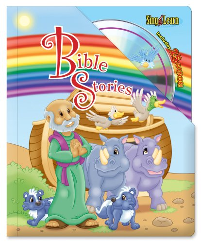 Bible Stories Sing & Learn Padded Board Book With CD: Mitzo Thompson, Kim, Mitzo Hilderbrand, ...