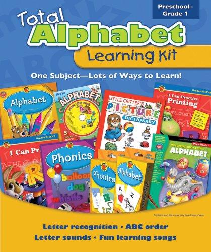 9780769654799: Total Alphabet Learning Kit (Total Learning Kits) Preschool - Grade 1