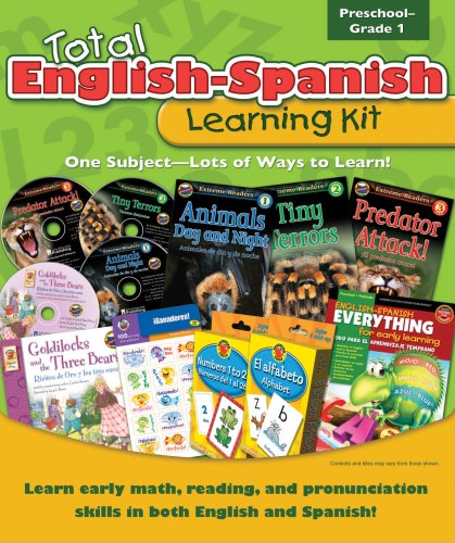 9780769654898: Total English-Spanish Learning Kit (Total Learning Kits) Preschool - Grade 1 (English and Spanish Edition)