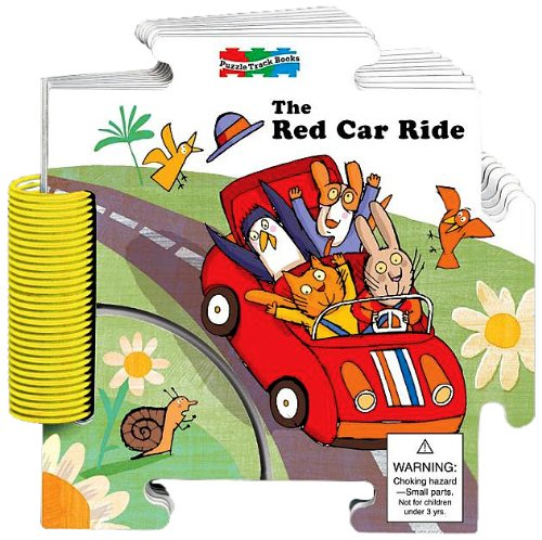 The Red Car Ride Puzzle Track Book: Carson-Dellosa Publishing