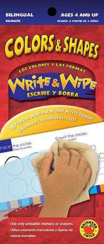 9780769656434: Colors & Shapes, Grades PK - 1: Los colores y las formas (Write & Wipe/ Escribe y Borra)