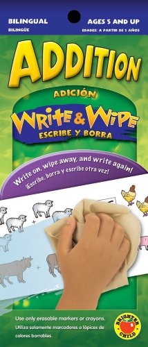Addition: Adicion (Write & Wipe), Ages 5 and Up (English and Spanish Edition): School Specialty...