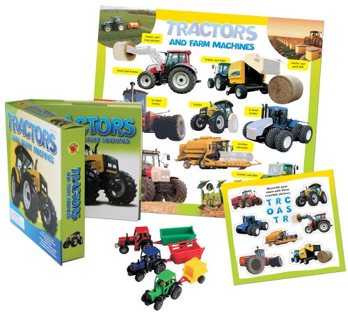 9780769657943: Tractors and Farm Machines Vehicle Play Set