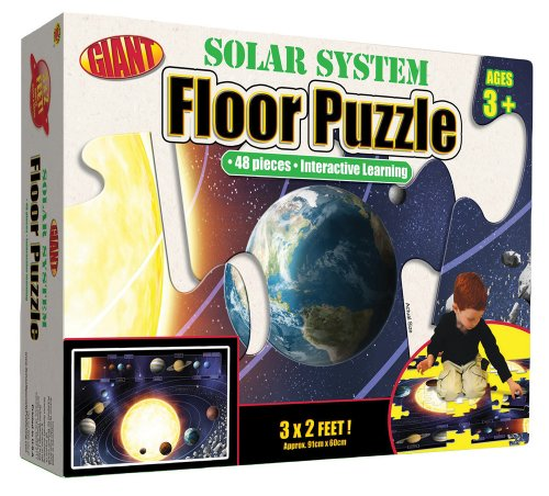 9780769658261: Our Solar System Floor Puzzle: Interactive Learning (Brighter Child Giant Floor Puzzles)