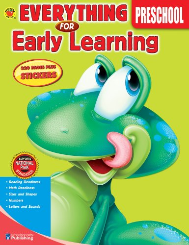 9780769659596: Everything for Early Learning, Preschool