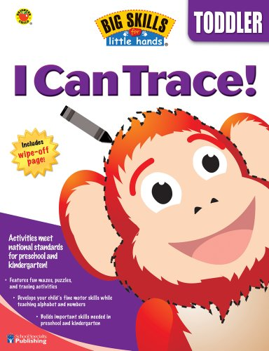 9780769660189: I Can Trace (Big Skills for Little Hands®)