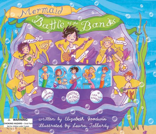 Mermaid Battle of the Bands Puppet Theater (Puppet Theater Story Books): Goodwin, Elizabeth