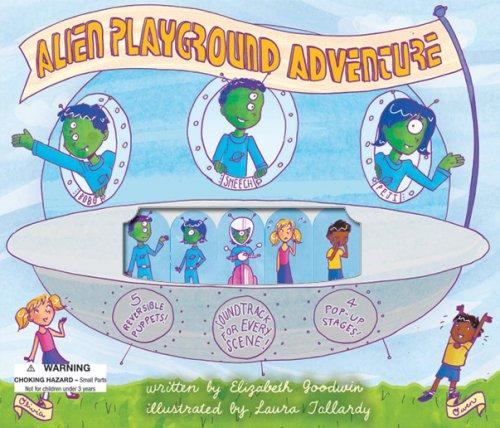 Alien Playground Adventure Puppet Theater (Puppet Theater Story Books)