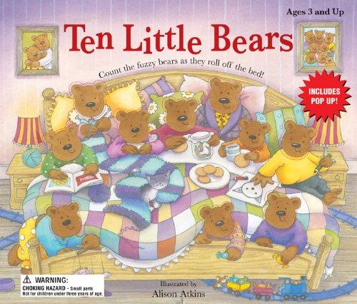 Ten Little Bears: School Specialty Publishing,Brighter