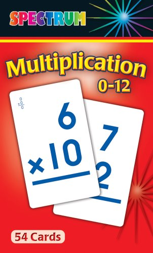 9780769662930: Multiplication 0-12 Flash Cards