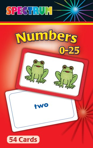 9780769663098: Numbers 0-25 Flash Cards