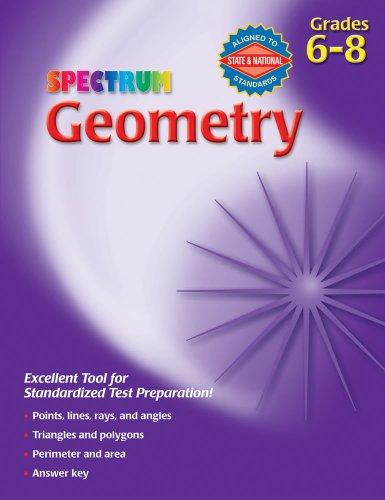 9780769663265: Spectrum Geometry, Grades 6-8