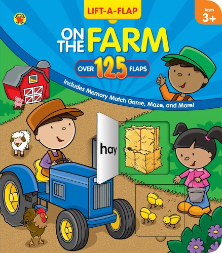 9780769663333: On the Farm, Grades Preschool - K (125+ Lift-a-Flap)