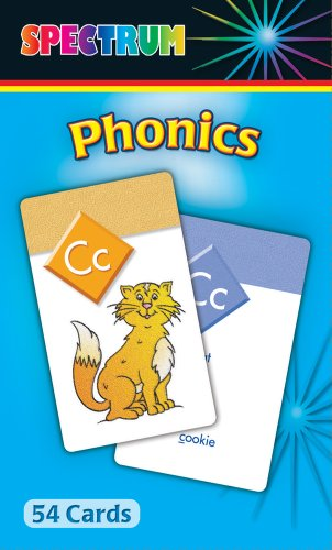 9780769663494: Phonics Flash Cards