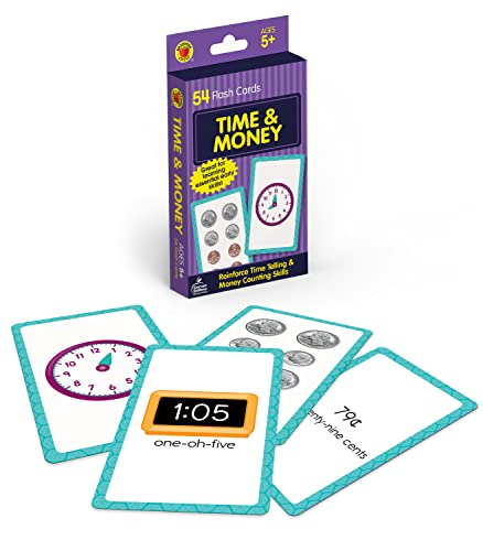 9780769664804: Time and Money (Brighter Child Flash Cards)