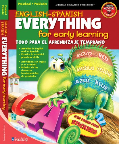 9780769664897: English-Spanish Everything for Early Learning, Preschool (English and Spanish Edition)