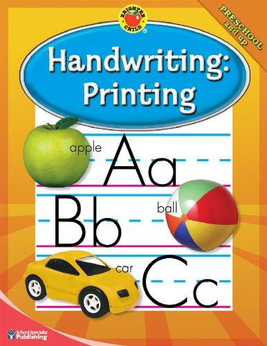 9780769675596: Brighter Child® Handwriting: Printing (Brighter Child Workbooks)