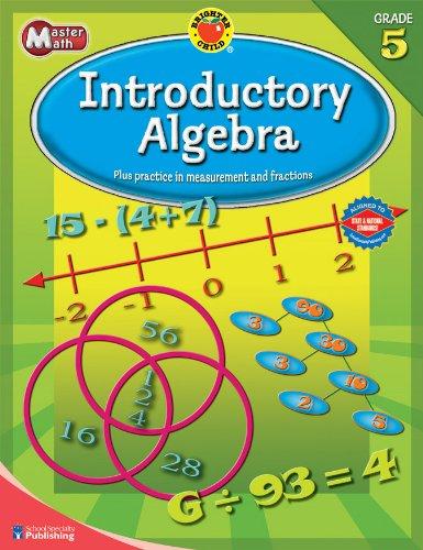 9780769676050: Brighter Child Master Math Introductory Algebra, Grade 5