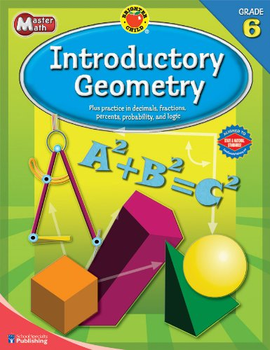 9780769676067: Brighter Child® Master Math: Introductory Geometry, Grade 6 (Brighter Child Workbooks)
