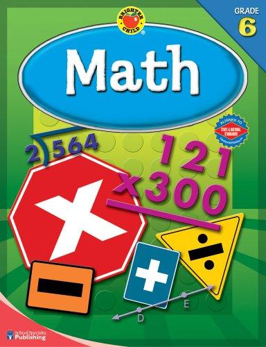9780769676166: Math, Grade 6 (Brighter Child Workbooks Brighter Child Math Workbooks)