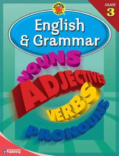 9780769676234: Brighter Child® English and Grammar, Grade 3 (Brighter Child Workbooks)