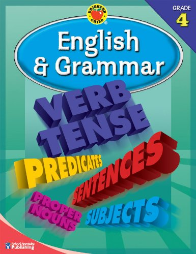 9780769676241: Brighter Child® English and Grammar, Grade 4 (Brighter Child Workbooks)