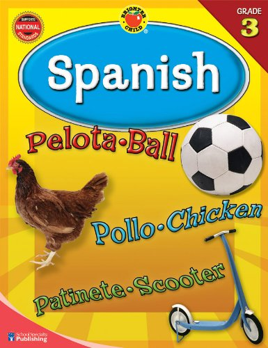 9780769676333: Brighter Child Spanish: Grade 3 (Brighter Child Workbooks Brighter Child Spanish Workbooks)