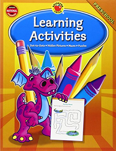 9780769676494: Brighter Child Learning Activities, Preschool
