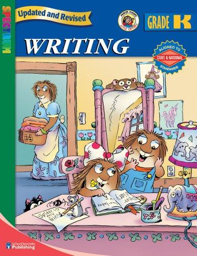 9780769676500: Spectrum Writing, Kindergarten (Little Critter Workbooks)