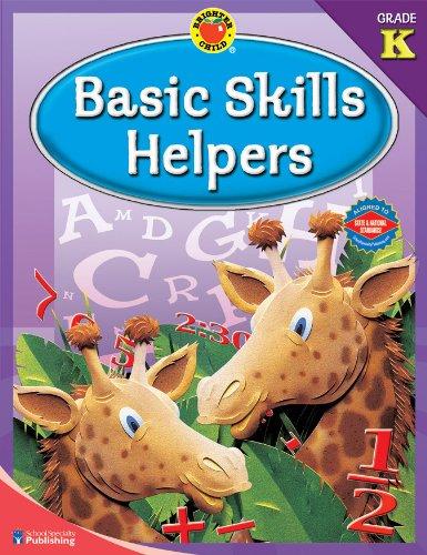 9780769676609: Brighter Child® Basic Skills Helpers, Grade K (Brighter Child Workbooks)
