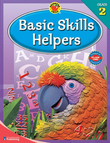 9780769676623: Brighter Child® Basic Skills Helpers, Grade 2 (Brighter Child Workbooks)