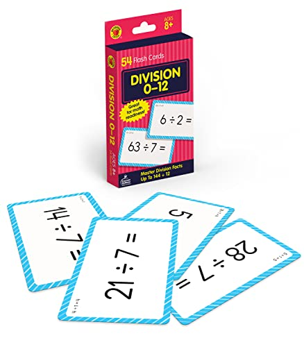 9780769677231: Division 0 to 12 (Brighter Child Flash Cards)