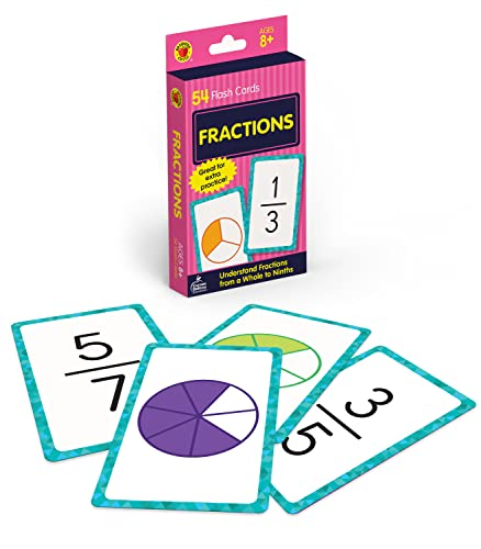 9780769677330: Fractions (Brighter Child Flash Cards)