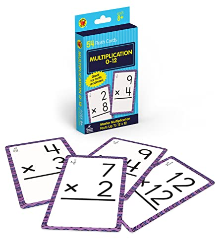 9780769677439: Multiplication 0 to 12 (Brighter Child Flash Cards)