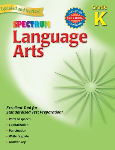 9780769680002: Spectrum Language Arts: Grade K