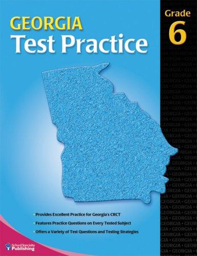 9780769680064: Georgia Test Practice consumable, Grade 6