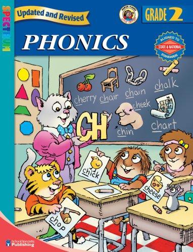 9780769680729: Spectrum Phonics, Grade 2