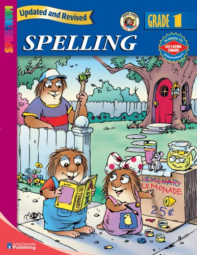 Spectrum Spelling, Grade 1 (Little Critter Workbooks) (9780769680910) by Mayer, Mercer; School Specialty Publishing