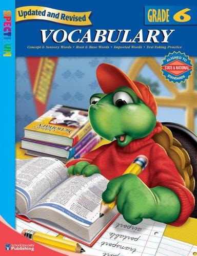 9780769680965: Spectrum Vocabulary, Grade 6