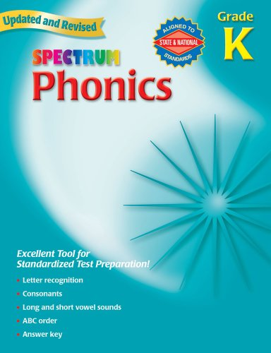 9780769682907: Spectrum Phonics, Kindergarten