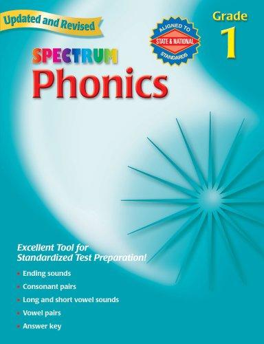 9780769682914: Spectrum Phonics, Grade 1