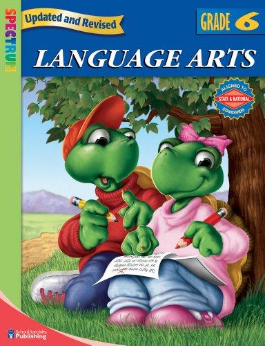9780769683065: Spectrum Language Arts, Grade 6