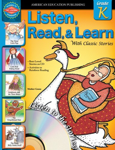 9780769683508: Listen, Read, and Learn with Classic Stories: Grade K (Listen Read & Learn With Classic Stories)
