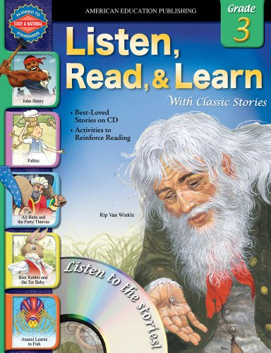 9780769683539: Listen, Read, and Learn with Classic Stories, Grade 3 (Listen, Read, & Learn with Classic Stories)