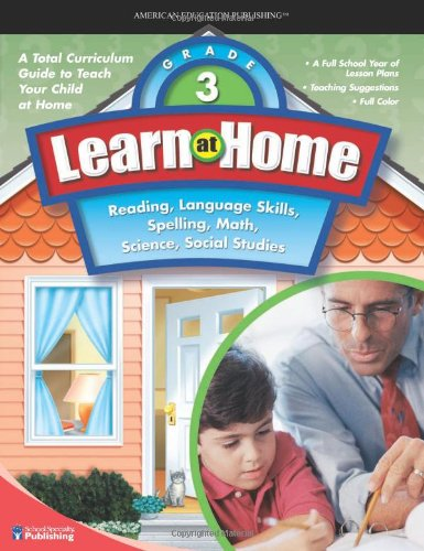 9780769683737: Learn at Home, Grade 3