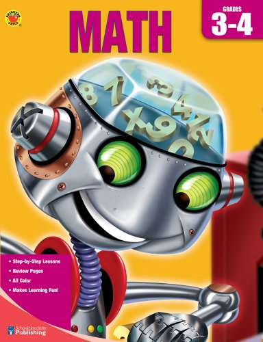 9780769685137: Brighter Child Book of Math, Grades 3-4