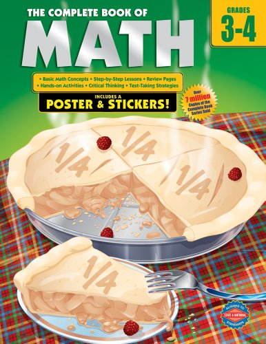 9780769685618: The Complete Book of Math, Grades 3-4