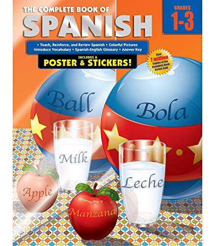 9780769685649: Complete Book of Spanish, Grades 1 - 3